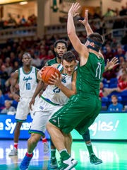 Jacksonville will again be one of the most physical teams that FGCU will play this season. The ASUN-leading Eagles host second-place JU on Saturday night.