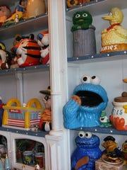 Edith Eva Fuchs of Metamora owns 2,653 cookie jars.