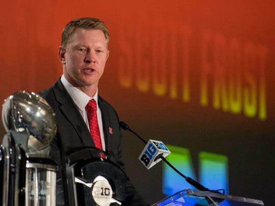 Nebraska's Scott Frost kicked of Big Ten Media Days