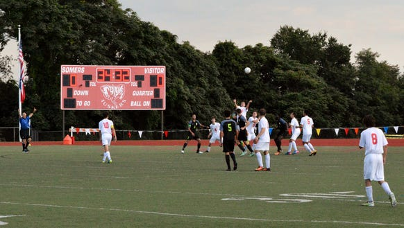 Somers won the League II-C title this week and holds steady at No. 3 in the power rankings.