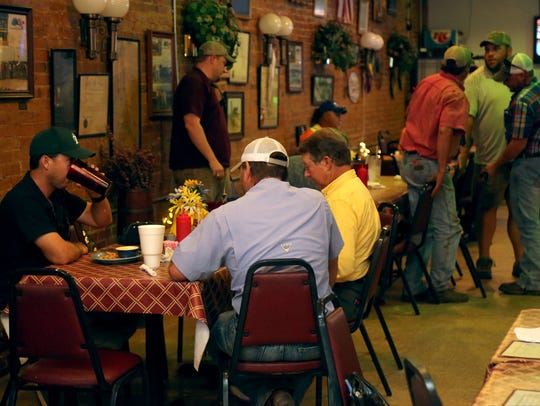 The Main Street Restaurant in Gilliam is always busy