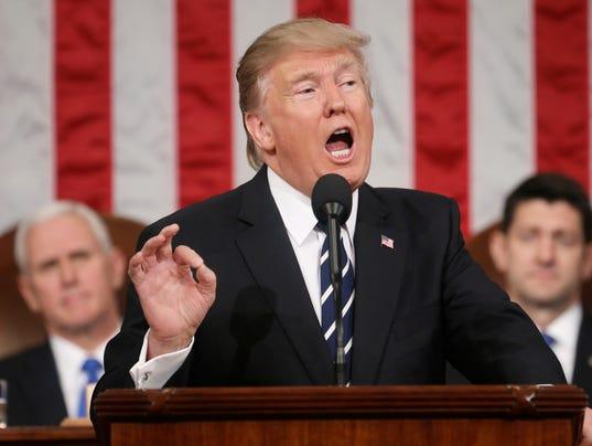 Trump's speech a fresh start for presidency