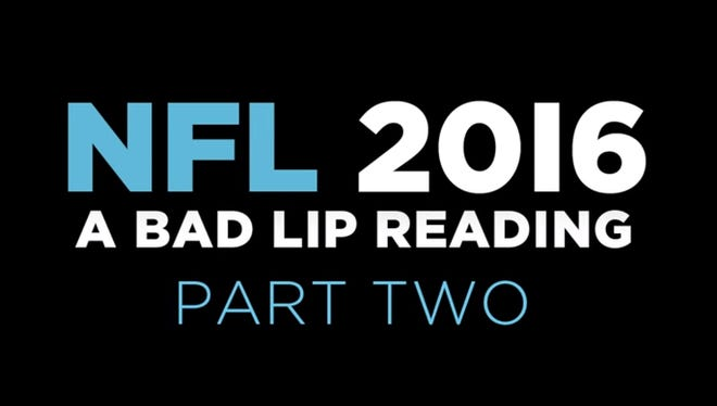 Bad Lip Reading: NFL 2016 Part 2
