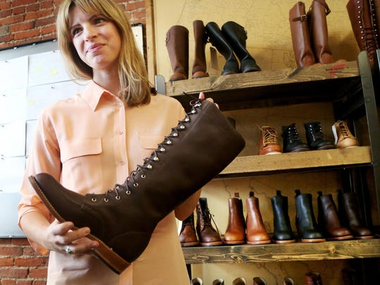 These Red Wing boots are made for women to walk in