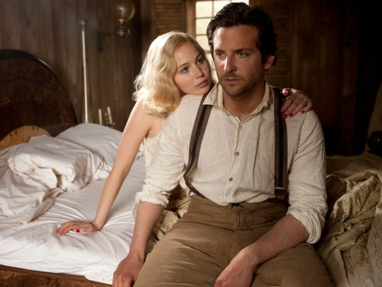 """Jennifer Lawrence and Bradley Cooper appear in a scene from """"Serena."""""""