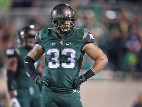 Jon Reschke during previous playing days at MSU.