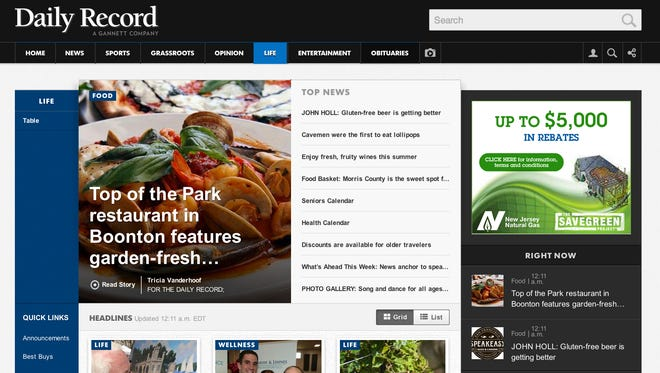 The new DailyRecord.com