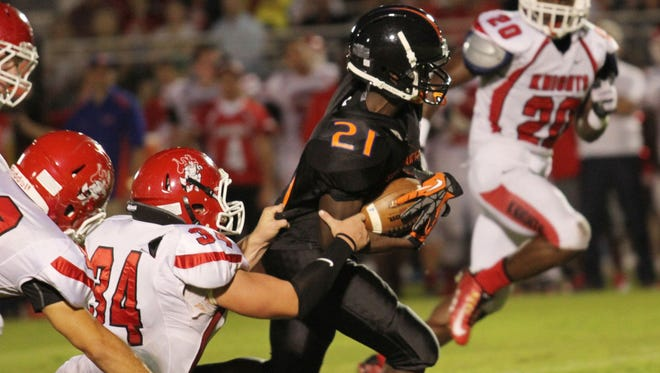 Cape Coral takes on North Fort Myers at Cape Coral High School on Friday night.