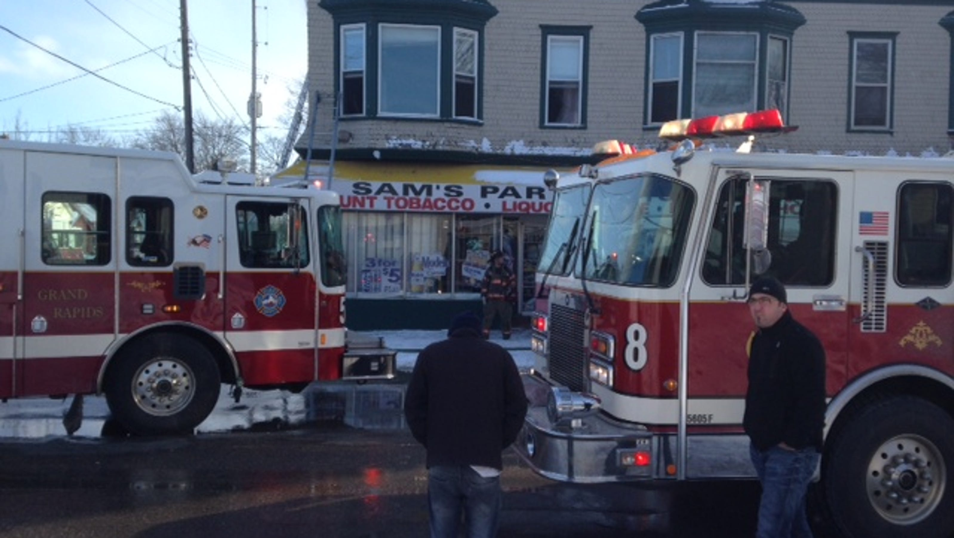Fire Damages West Side Party Store