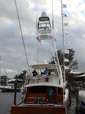 Champagne Lady won the 2016 Pirates Cove Sailfish Classic with 20 releases, including nine on the tournament's final day.