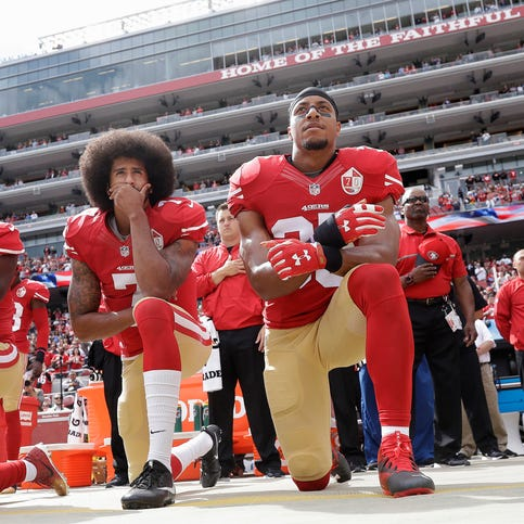 Letter: 50 years later, athletes still protesting