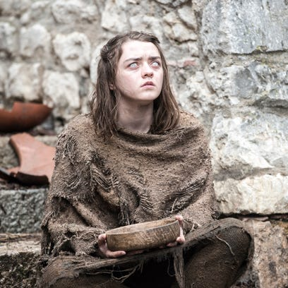 It's time to head back to Westeros! Scroll through these photos giving you a sneak peek at 'Game of Thrones' season 6. First up,Arya Stark, who appears to still be blind after her ordeal at the end of season five.