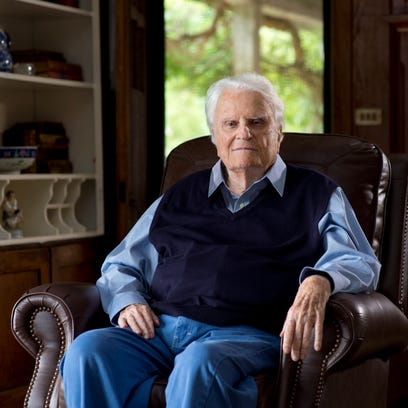 Billy Graham, renowned Montreat evangelist, dies at 99