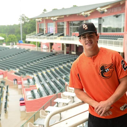 Baltimore Orioles' top pick DL Hall finding rhythm with the Shorebirds