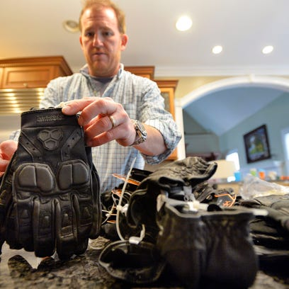 Scott McDaniel, founder of StrongSuit, which makes tactical gloves for law enforcement, says feedback from a sheriff in Bounder County, Colorado, helped him refine his products.