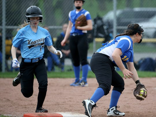 Irondequoit Emily Mongelli (16) makes the catch at