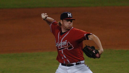 Tommy Hanson threw a no-hitter in 2008 for the Mississippi