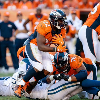 Broncos running back C.J. Anderson has played like an RB1 so far this season and has a solid matchup in Week 3 at Cincinnati.
