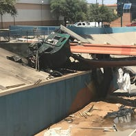 I-10 to be closed 24 hours after fiery semitrailer crash in Downtown El Paso, police say