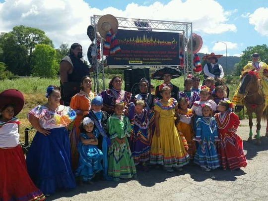 The Saint Francis de Paula Folklorico, better known