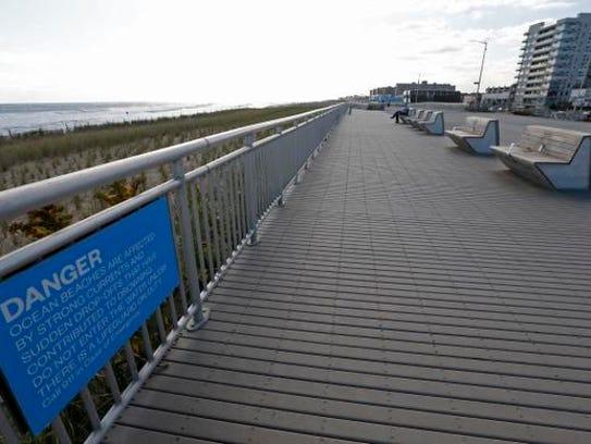 A five-and-a-half mile, rebuilt boardwalk stretches