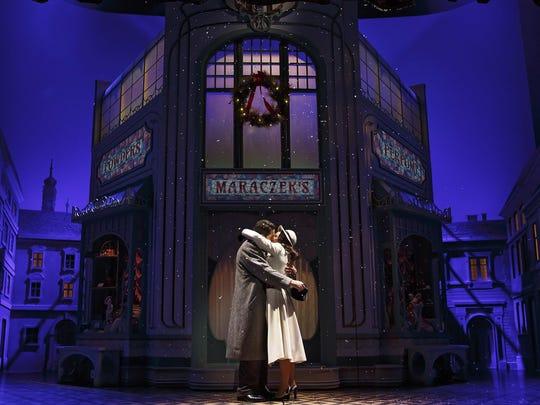 Laura Benanti and Zachary Levi play Amalia Balash and