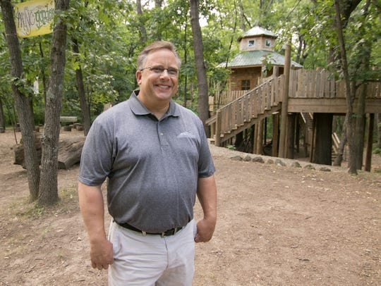 John Carlson, Howell Conference and Nature Center Chief