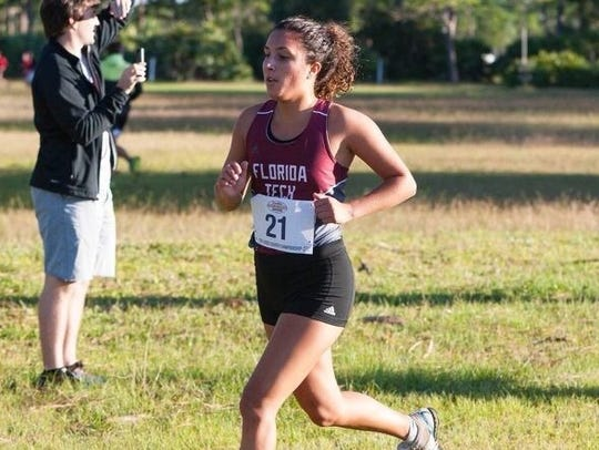 Kicking it into overdrive for Florida Tech is Marina DeBiasi, who recently was named Sunshine State Conference's Female Scholar-Athlete Of The Year.
