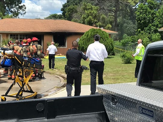 A body was found after firefighters responded to a fire call at 1701 Framingham Court in Fort Myers on Wednesday.