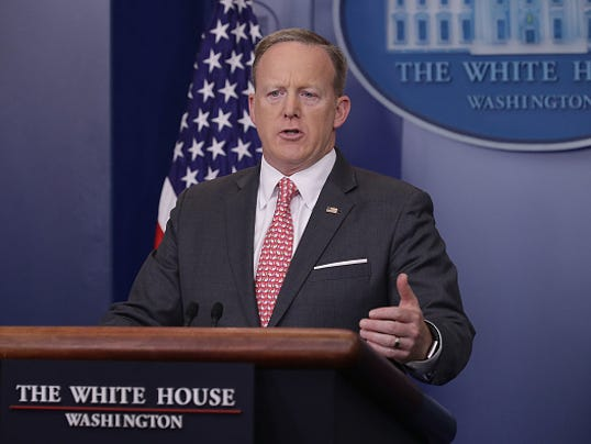 White House Press Secretary Sean Spicer Holds Daily Press Briefing At The White House