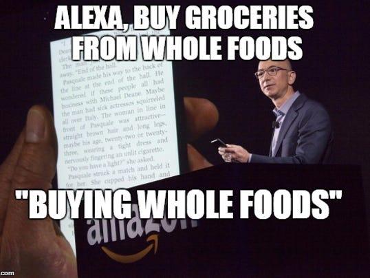 Amazon Buys Whole Foods Meme