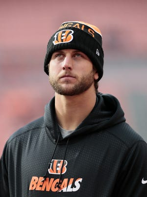 Injured Cincinnati Bengals tight end Tyler Eifert has not yet been ruled out by the team for Monday night.