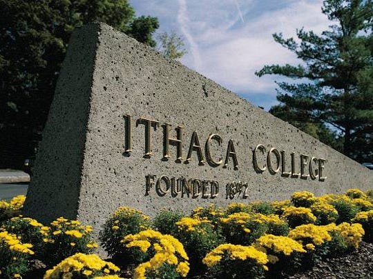 Ithaca College entrance.