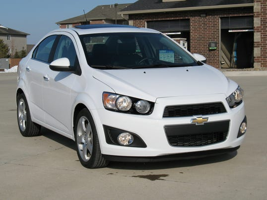 2014 Chevrolet Sonic Turbo sedan