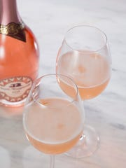 Sparkling rose from Santa Margherita.