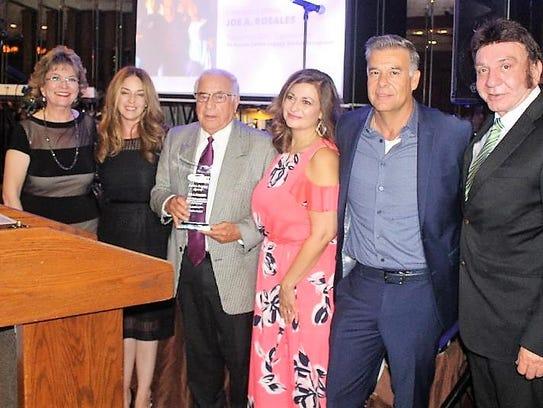 Left to right: Aliana Apodaca, Angelica Rosales, Joe
