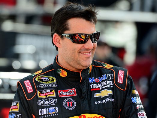 Tony Stewart, born May 20, 1971, in Columbus, Ind., is a three time NASCAR Cup Series champion (2002, '05, 11), the 1997 Indy Racing League (IndyCar) champion and the 1995 USAC Triple Crown champion.