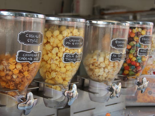 A Pop Above offers free samples of a few popcorn flavors,