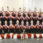 Northville middle school pom teams cap off stellar season