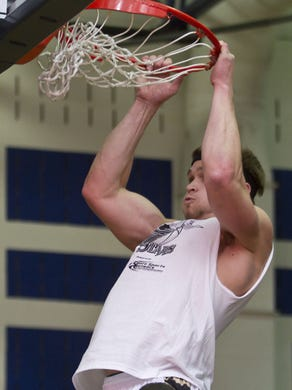 West's Mike Gesicki of Southern Regional goes to the hoop while at Southern.