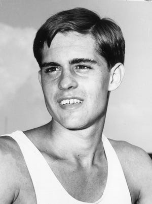 Bob Redington was an All-American in track and field for the University in Tennessee in 1965.