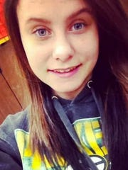 Sydni Briggs poses for a photo, at age 13 or 14. She was later sent to Copper Lake School for Girls, where she attempted to kill herself.