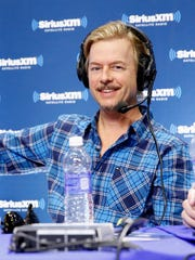 Comedian David Spade attends SiriusXM at Super Bowl XLVIII Radio Row in 2014 in New York City.