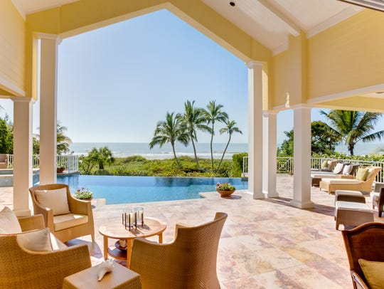 3421 W. Gulf Drive,, Sanibel Island, sold for  $6,837,500