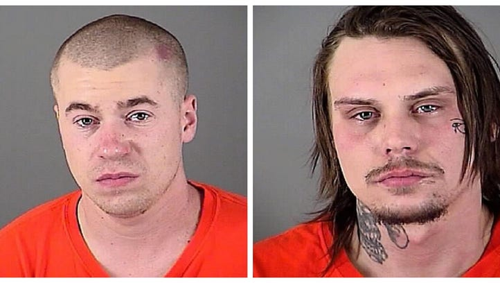 Andrew A. Bock (left) and Dennis R. Radomski are charged with felony armed robbery for allegedly participating in an armed robbery at knifepoint at the PDQ convenience store in Delafield on Jan. 18.