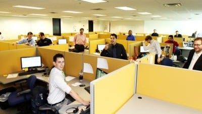 Scottsdale-based Nextiva.com, shown here in 2012, is passionate about local hiring.