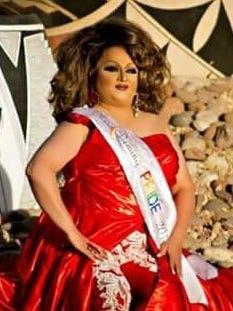 Vivika D'Angelo Steele, reigning Miss Deming Pride 2017.