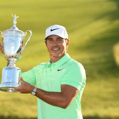 Brooks Koepka ties record for lowest round in PGA Championship history