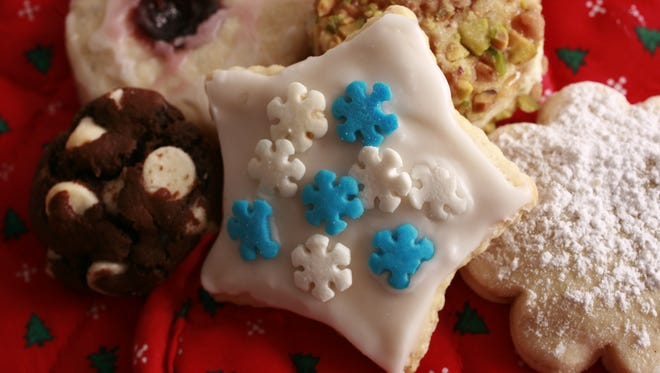 Sample holiday cookies during Christmas on the Farm Dec. 13 at Traders Point Creamery.