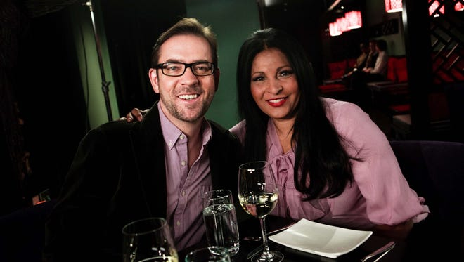 Ted Allen and Pam Grier are two of the celebrity spokespeople for Dining Out for Life, a fundraiser event that turns restaurant sales into charitable donations to local HIV/AIDS organizations across North America.